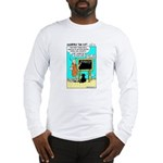 Long Sleeve T-Shirt - Featuring Dharma The Cat