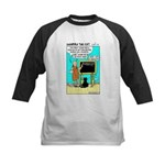 Kids Baseball Jersey - Featuring Dharma The Cat