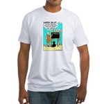 Fitted T-Shirt - Featuring Dharma The Cat