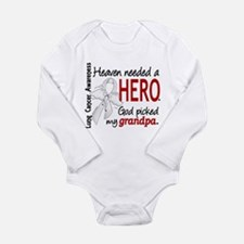 Heaven Needed a Hero Lung Cancer Body Suit