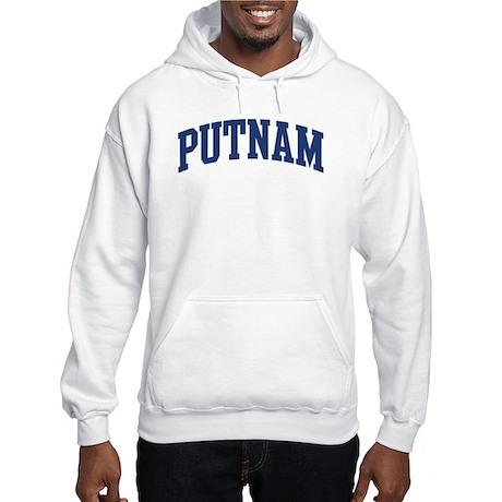 PUTNAM design (blue) Hooded Sweatshirt