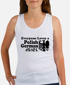 Polish German Girl Tank Top