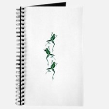 Three Frogs Jumping Journal