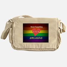 Orlando never forgetting 6-12-16 Messenger Bag