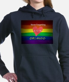 Orlando never forgetting Women's Hooded Sweatshirt