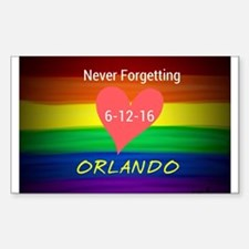 Orlando never forgetting 6-12-16 Decal