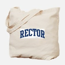 RECTOR design (blue) Tote Bag