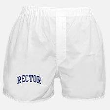 RECTOR design (blue) Boxer Shorts
