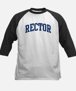 RECTOR design (blue) Kids Baseball Jersey