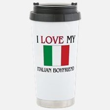 Unique Italian girl Travel Mug