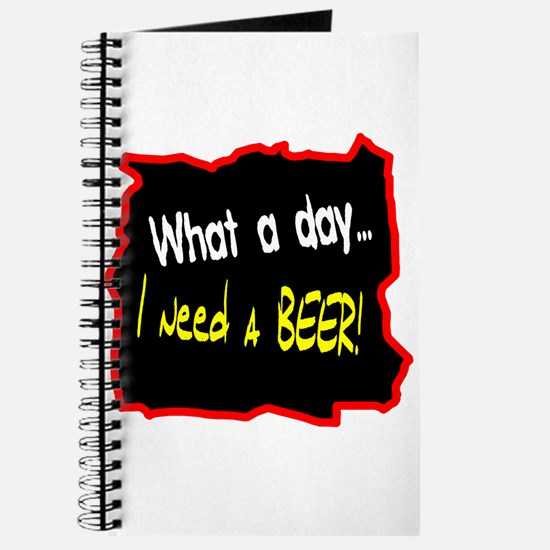 I Need A Beer! Journal