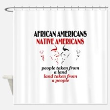 African American Women Shower Curtains
