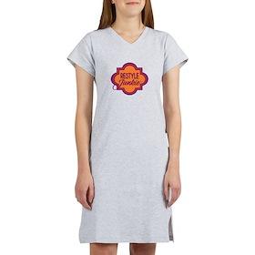 Restyle Junkie Logo Nightshirt T-Shirt