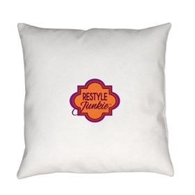 Restyle Junkie Logo Everyday Pillow