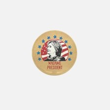 Madame President Mini Button