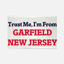 Trust Me, I'm from Garfield New Jersey Magnets