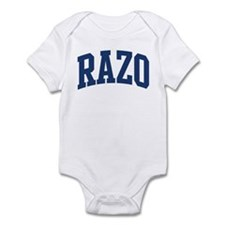 RAZO design (blue) Infant Bodysuit