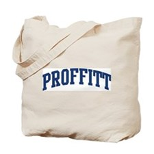 PROFFITT design (blue) Tote Bag