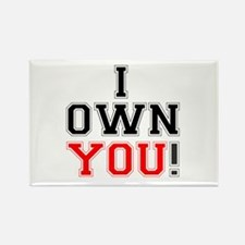 I OWN YOU! Magnets