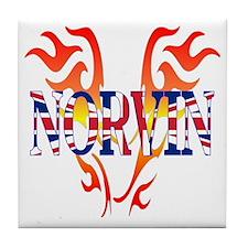 Norvin British Iron Tile Coaster