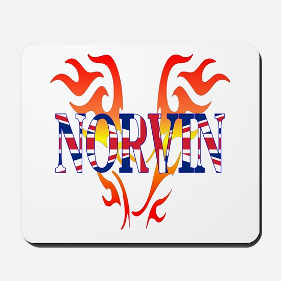 Norvin British Iron Mousepad