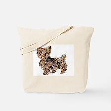 Too Many Yorkies Tote Bag