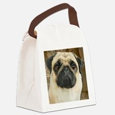 Pug-What! Canvas Lunch Bag