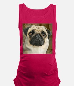 Pug-What! Maternity Tank Top