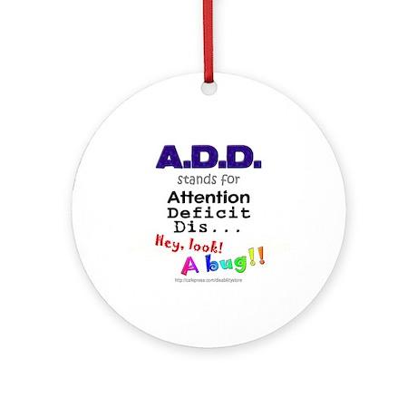 ADD BUG Ornament (Round)