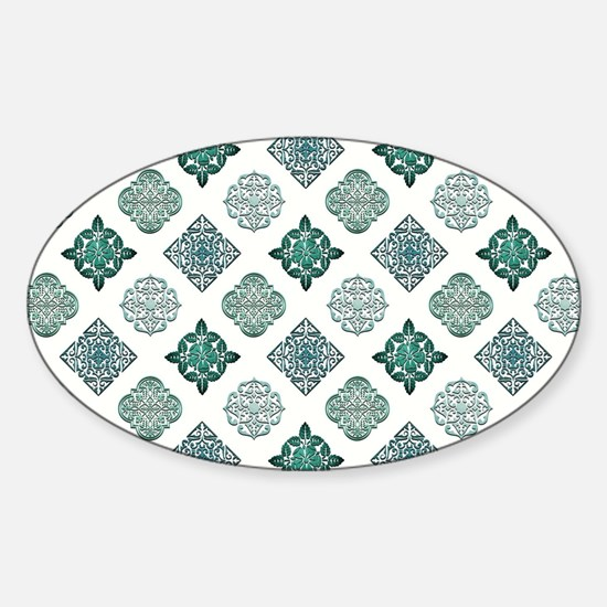 TEAL TILE Decal