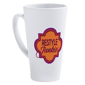 Restyle Junkie 17 Oz Latte Mug