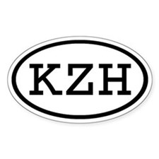 KZH Oval Oval Decal