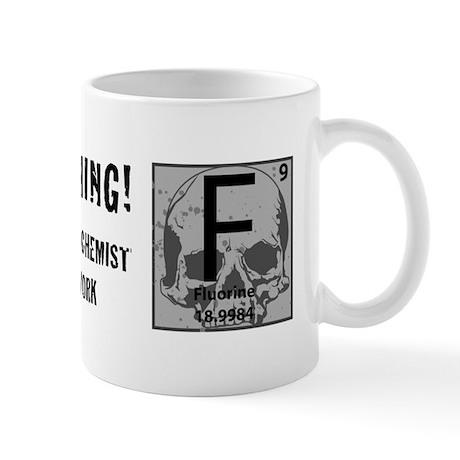 """""""Fluorine Chemist"""" Mug"""
