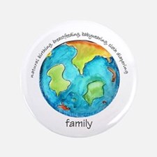 """Earth Mama 3.5"""" Button"""
