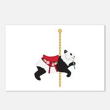 Carousel Panda Postcards (Package of 8)