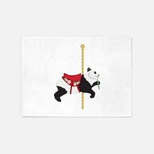 Carousel Panda 5'x7'Area Rug