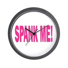 Spank Me! Wall Clock
