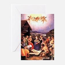 Nativity Italian Christmas Cards (Pk of 10)
