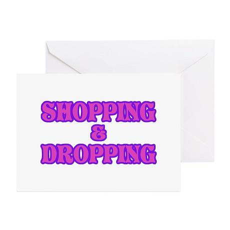 Shop till You Drop Greeting Cards (Pk of 20)
