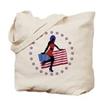 Sexy Girl America 1 Tote Bag