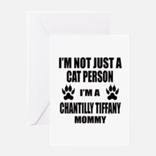 I'm a Chantilly Tiffany Mommy Greeting Card
