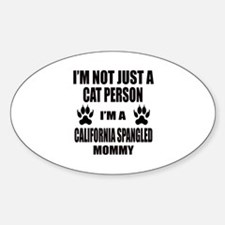 I'm a California Spangled Mommy Decal