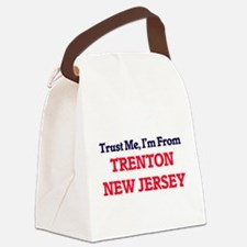 Trust Me, I'm from Trenton New Je Canvas Lunch Bag