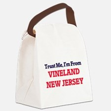 Trust Me, I'm from Vineland New J Canvas Lunch Bag