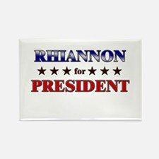 RHIANNON for president Rectangle Magnet