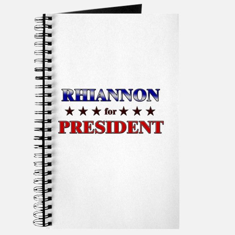 RHIANNON for president Journal