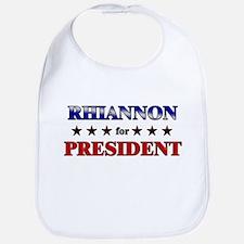 RHIANNON for president Bib