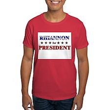 RHIANNON for president T-Shirt