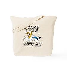 I came, I saw Tote Bag