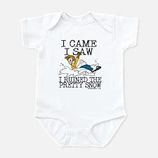 I came, I saw Infant Bodysuit